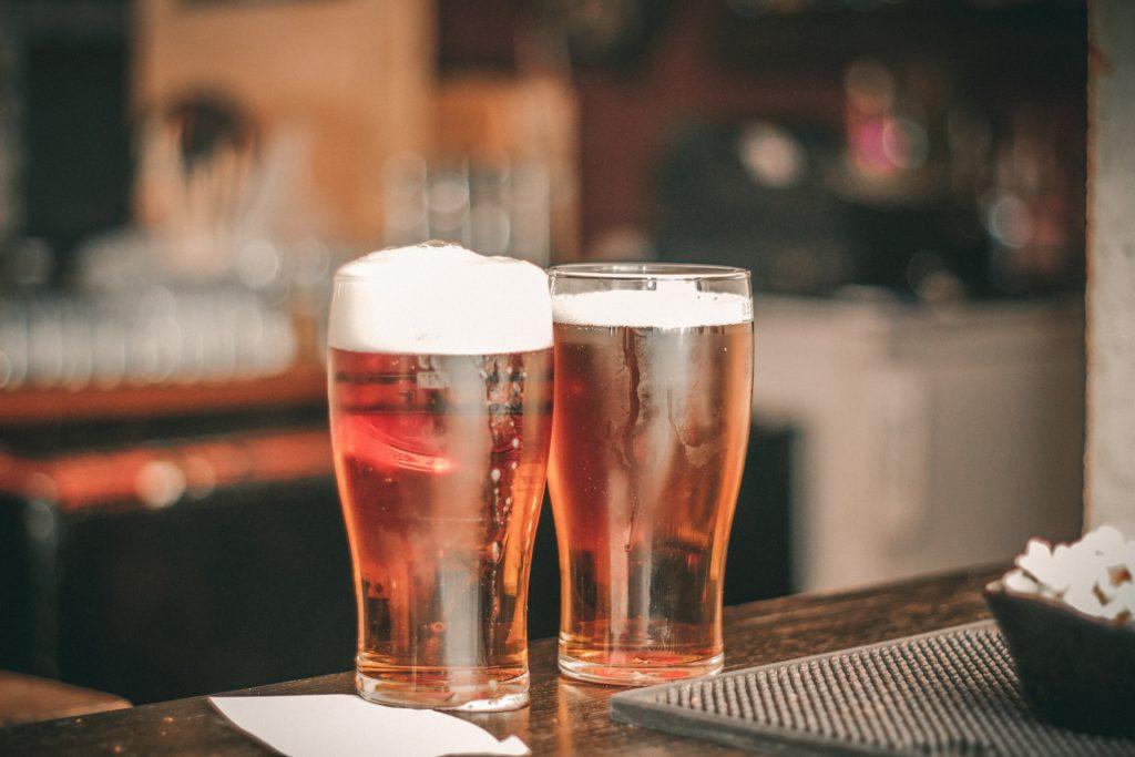 storing beer